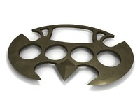 3d brass knuckle model