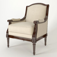 armchair salda 7926 3d obj