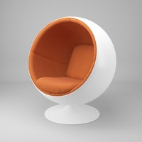 ball chair eero aarnio 3d 3ds