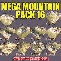 c4d mountains pack