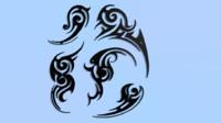 3d tatoo model