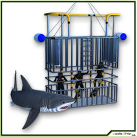 3d model of scuba cage