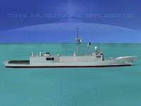 lightwave perry class frigate