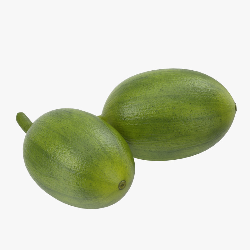 Green Coffe Bean 3d model 01.jpg