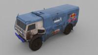 kamaz 3d model