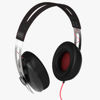 sennheiser momentum headphones 3d model