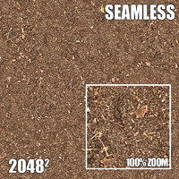 2048 Seamless Dirt/Grass 5