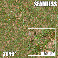 2048 Seamless Dirt/Grass 9