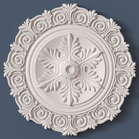 3d model ceiling medallion