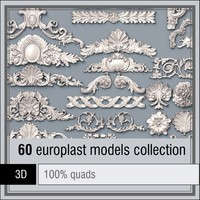 europlast 60 items 3d model