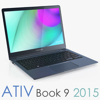 3d model samsung ativ book 9
