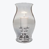 3d model modern candleholder candle