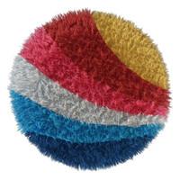 3d rug rainbow