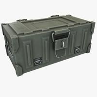 3d model ammo crate 2