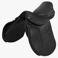 saddle modeled realistic 3d model