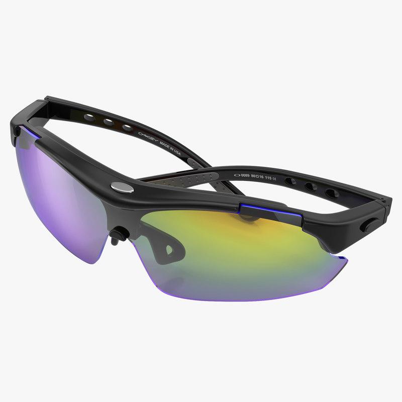 3d model of Sport Glasses Folded 01.jpg
