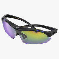 3ds max sport glasses 2