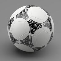 soccer ball 94 3d max