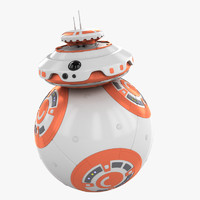 ball droid star wars 3d max