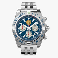 3d breitling chronomat france model