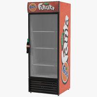 refrigerator fanta 3d max