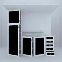 bathroom cabinet 3d model
