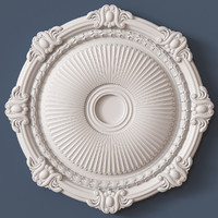 3d ceiling medallion model