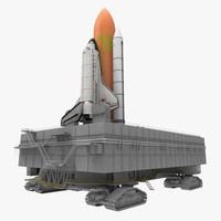 3d model nasa launch pad