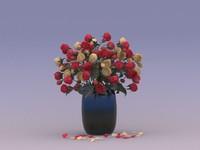 vase roses max
