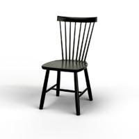 3d carl lilla Åland chairs model