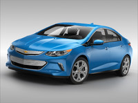 3d model of chevrolet volt ev