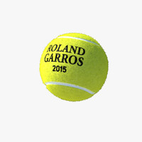 tennis ball 3d obj