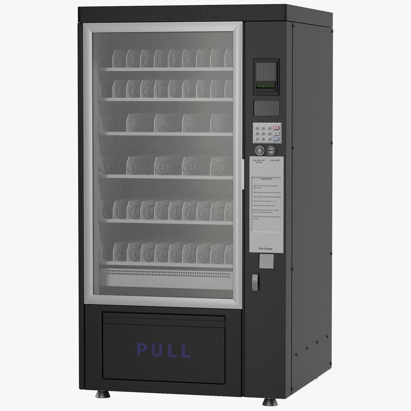 3d model of Drink Vending Machine 01.jpg
