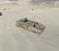 apc vehicle 3d 3ds