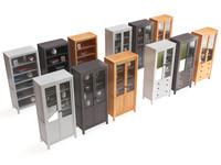 3d max set ikea cabinet different