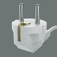 3d euro plug model