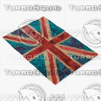 roche bobois rug england 3d model