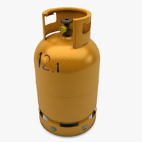 butane gas container 3ds