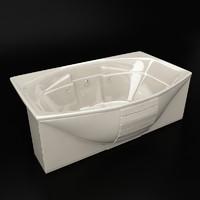jacuzzi ciprea bath 3d max