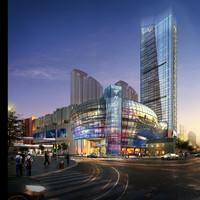 3ds max skyscraper business center 089