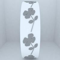 clover bracelet 3d model