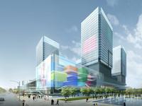 3d skyscraper business center 108 model