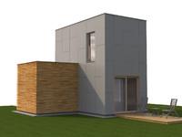 3d model of house modular