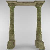 arch games background 3d model