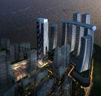3ds max skyscraper business center 122