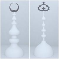 mosque design 3d max
