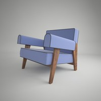 pierre jeanneret lounge chair max