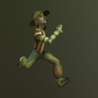 fbx scarecrow character
