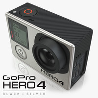 3d model of gopro hero4 4