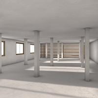 3d store storeroom model